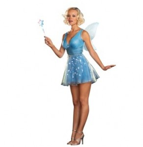 True Blue Fairy Adult Costume